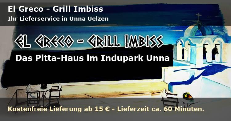 EL GRECO - GRILL IMBISS Lieferservice in Unna Uelzen